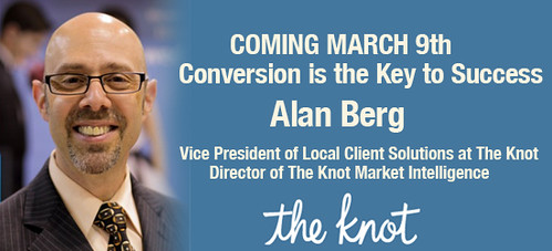 """Alan Berg from The Knot """"Conversion is the Key"""""""