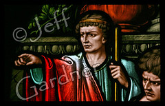 The Prefect of Rome Supervises St. Lawrence's Execution (*Jeff*) Tags: rome church window saint southdakota lawrence catholic stainedglass sd martyr prefect milbank