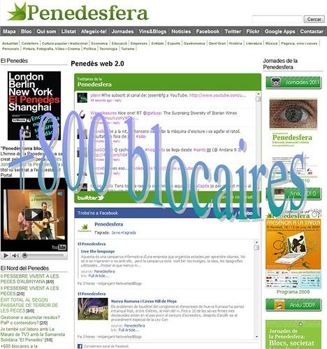 +800 blocaires a la Penedesfera