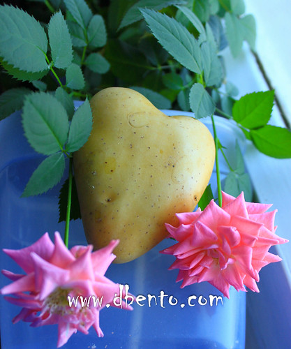 heart shape potato