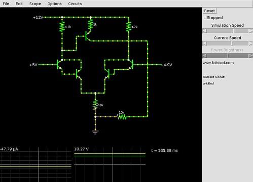 Voltage-comparator-NPN