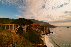 Sky Over Bixby Bridge (idashum) Tags: california bridge landscape photography coast monterey nikon bigsur highway1 montereycounty ida shum rainbowbridge californiacoast bixbybridge pacificcoasthighway d300 bixbycreek bixbycreekbridge bixbycanyon bixbycanyonbridge idashum idacshum