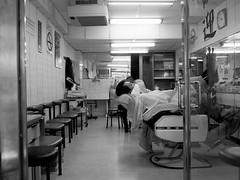 Sleeping Ninja (BrianQWebb) Tags: sleeping man shop asian taiwan barber shave tw