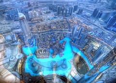 1102100814 view from Burj Khalifa, Dubai (neimon2 (too busy, sorry for my temporary silence)) Tags: lake skyscraper observation nikon dubai uae emirates khalifa arab hdr burj d90 hdraddicted neimon2