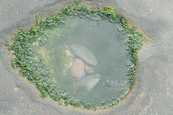 岩面上的洞