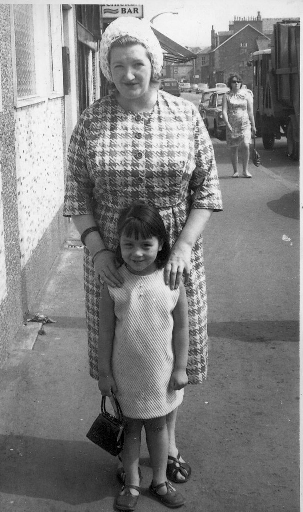 Margaret and Angela Hull 1960s