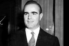 Constantine Karamanlis in 1961 (Fotogreca Press Archive..... Greece in the 1960's) Tags: greece 1961 president           60        hellas athinai   jfk camelot first lady               junta papadopoulos  grace kelly   papandreou giorgos diktatoria     anthony quinn pattakos zorba glyfada villa   pallia athina 1960s vintage
