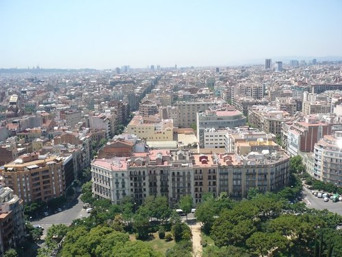 Eixample, Barcelona, España. Foto de Gabriela Angulo