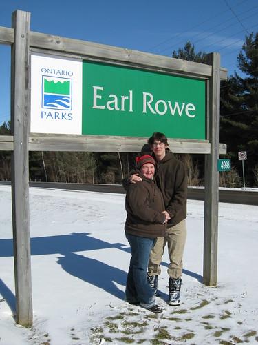Us At Earl Rowe