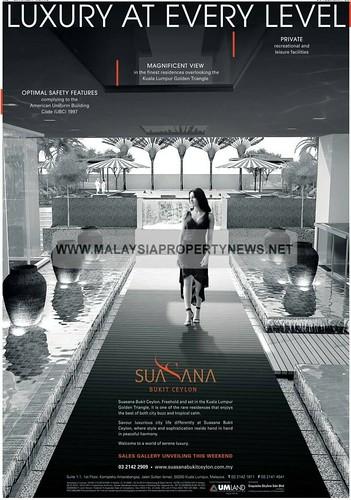 Suasana bukit ceylon, Kuala Lumpur Golden Triangle luxury condominium for sale