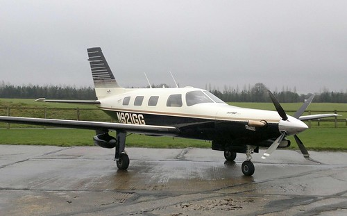 Piper PA-46-350P Malibu Mirage (Jet Prop DLX Conversion