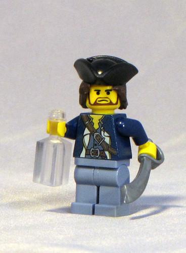 Custom minifig James Norrington in Dead Man's Chest custom minifig