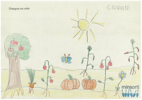 Disegna un orto 2A 14