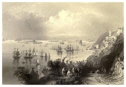 016-Puerto Caleta-The scenery and antiquities of Ireland -Vol II-1842-W. H. Bartlett