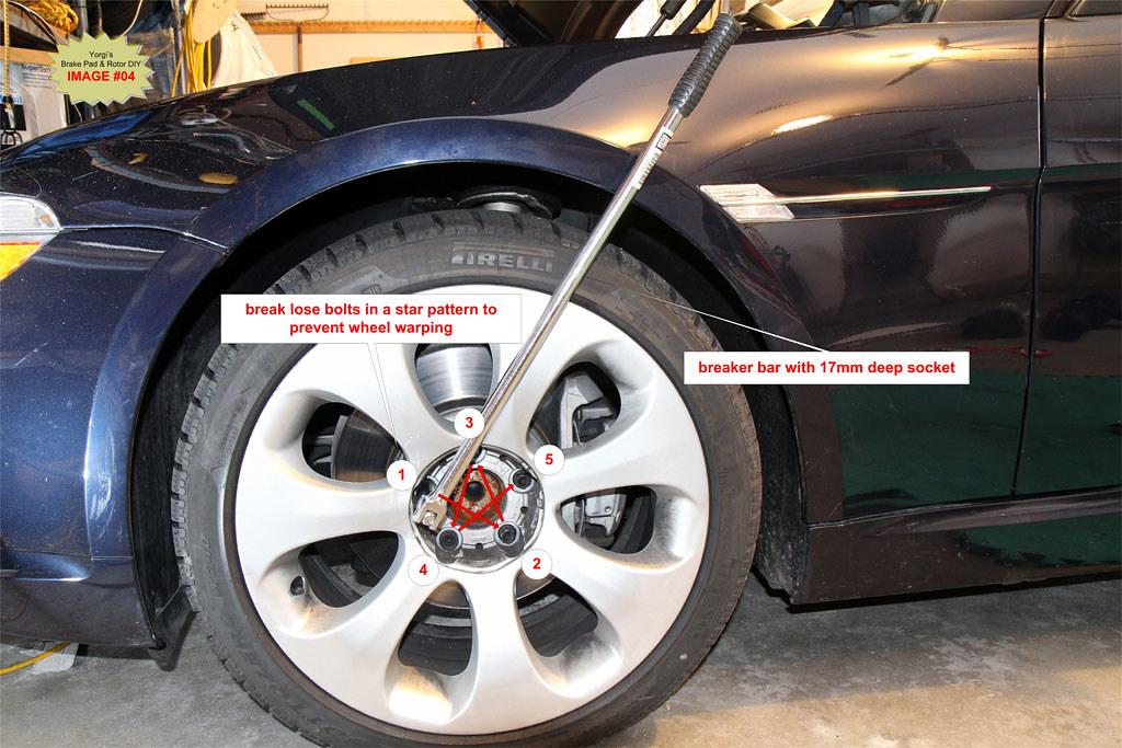 DIY: BMW 650i / 645Ci / E63 / E64 Brake Pad and Rotors - Bimmerfest