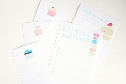 Sweet Treats Lists