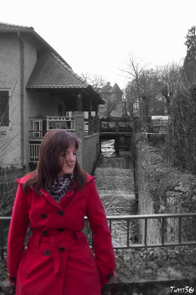 Red Girl in Water mills 5487065630_a71abaf573_b