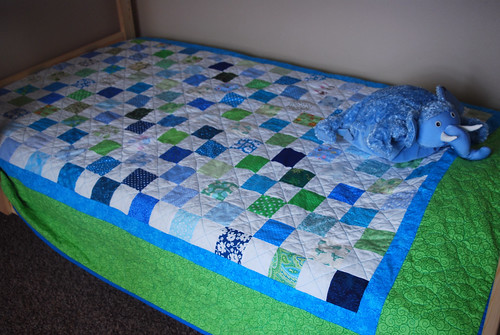 New Quilt in Action