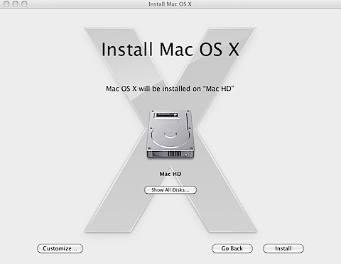 how to make a mac os x install disk