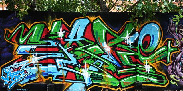 imagenes graffiti hase en valencia
