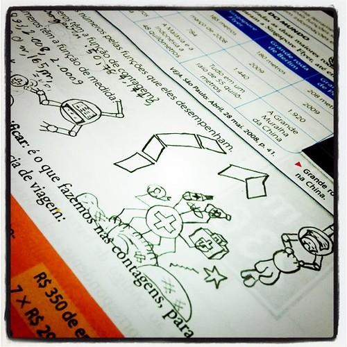 Apostila de filho desenhista #aos10 #maecomfilhos