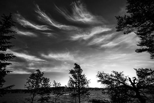 Cool cloud formations at Øyangen
