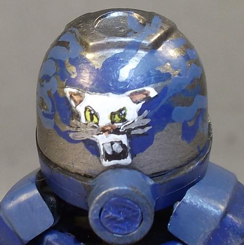 Custom minifig Helmet