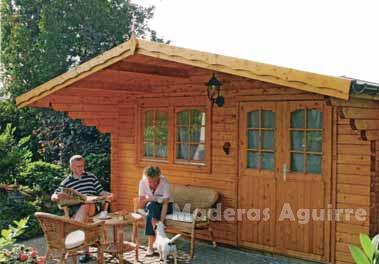 Maderas aguirre jardineria casetas de madera caseta de jardin duero - Maderas aguirre ...