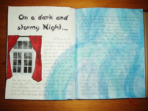 February Journaling Challenge, Day-26: On A Dark And Stormy Night.