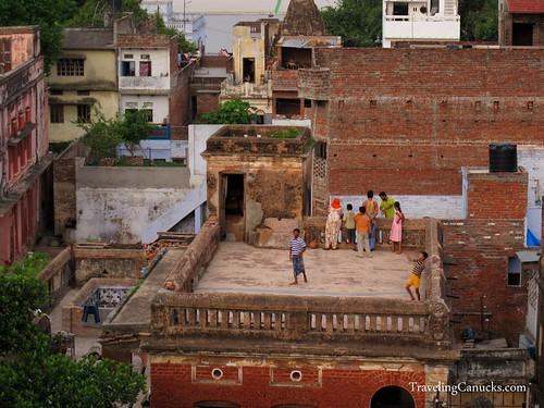 Rooftops of Varanasi