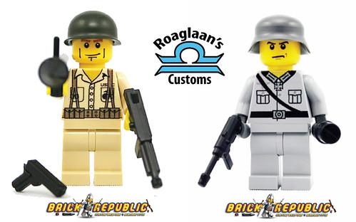 Custom minifig 2 new designs @ brick republic