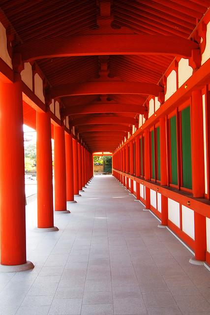 20101117_124552_薬師寺_回廊
