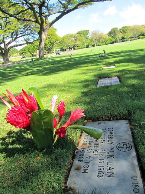 National Memorial Cemetery of the Pacific, Honolulu, the Punchbowl, Oahu, Hawaii
