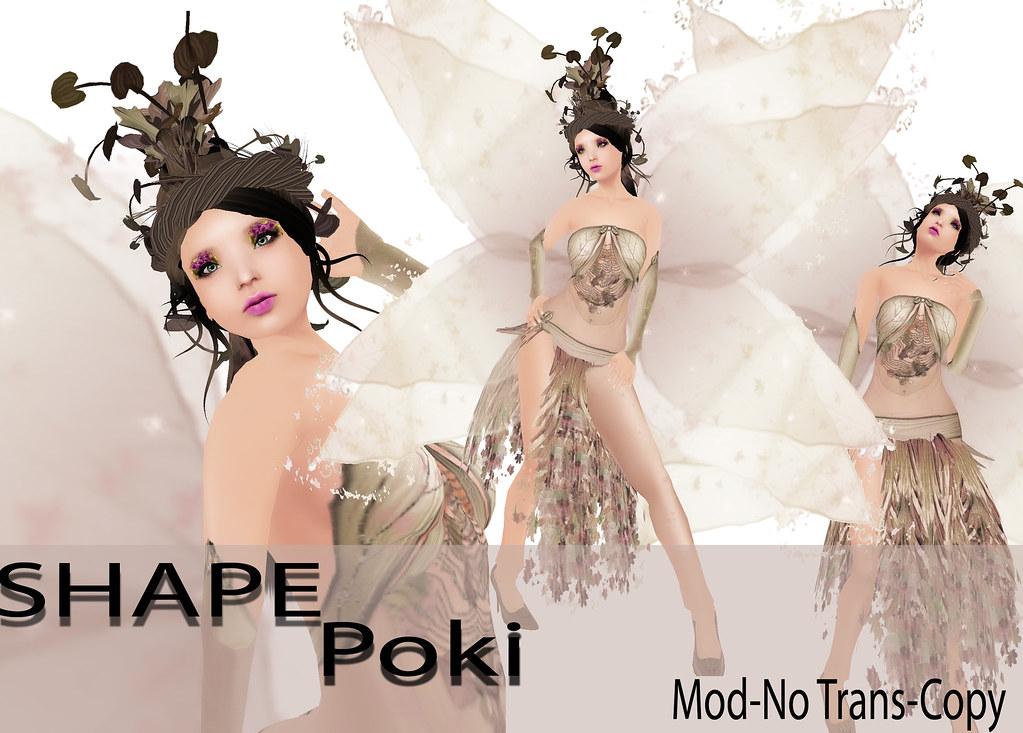 shape poki