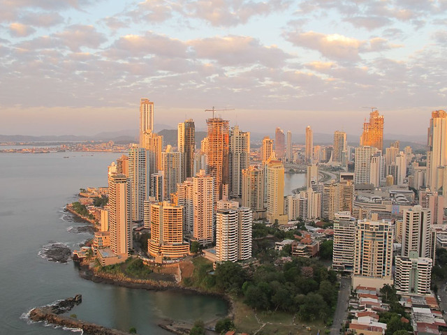 Early morning in Panama City, Panamá