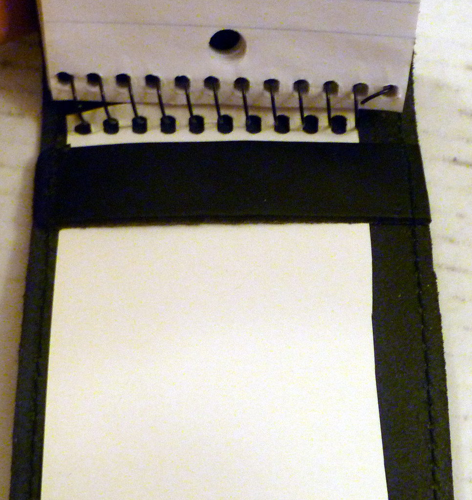 Short Reviews Of Three Leather Covers For 3x5 Spiral Bound