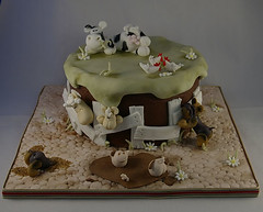 Lochner's farm cake (Dot Klerck....) Tags: chickens dogs southafrica cow sheep farm capetown dot pigs wellington lamb welshterriers sugarmodeling eatcakeparty