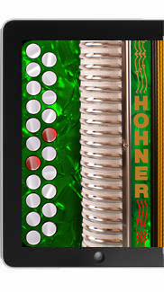 Hohner-C#/D Melodeon