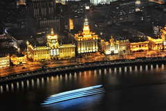 The Bund 1 (darrelljlew) Tags: tower tv pearl financial tallest buildingshanghaithe bundwaterfrontstall buildingsworlds buildinghuangpuhuangpu riverpuxipudonglujiazuisunsetsarchitectureriver boatspearl toweroriental bundworld