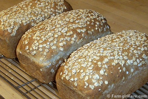 Oatmeal Toasting Bread - Farmgirl Fare