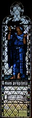 Elijah (IanAWood) Tags: london raw stainedglass williammorris putney 1884 allsaintschurch churchwindows churchofengland morrisco d3x siredwardburnejones walkingwithmynikon nikkorpce24f35 surreychurches