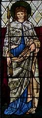 St Ursula (IanAWood) Tags: london raw stainedglass williammorris putney allsaintschurch churchwindows churchofengland morrisco d3x siredwardburnejones walkingwithmynikon nikkorpce24f35 surreychurches
