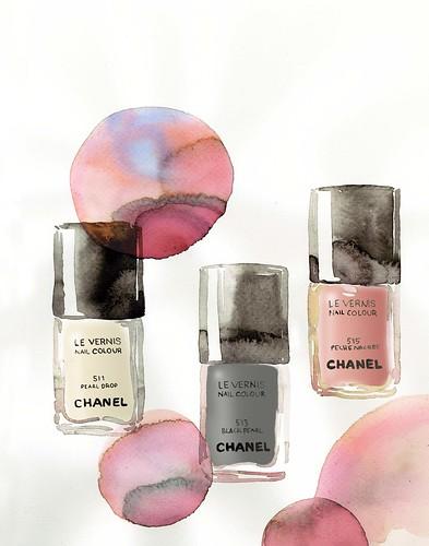 Chanel Spring 2011 nail polish colors