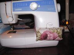 sewing machine pin caddy