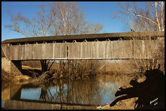 Switzer Cover Bridge (Jane Volk) Tags: ky historic coveredbridge firsthand thisisky