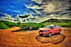 Final HDR Friday - Curacao Rental Car (Captain Kimo) Tags: digital photoshop highdynamicrange hdri photomatix hdrphotography hdrphotos topazadjust