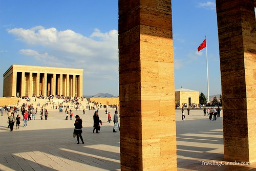 Mausoleum of Atatürk, Ankara, Turkey