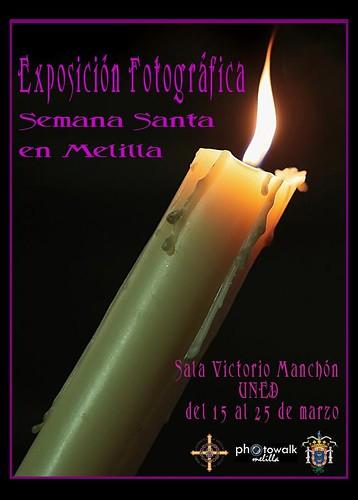 Exposición Fotográfica - Semana Santa en Melilla - del 15 al 25 de marzo - UNED - Sala Victorio Manchón