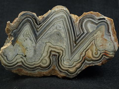 Laguna Lace Agate (Rockpetals) Tags: agate mexico lace mexican laguna fortification nodule