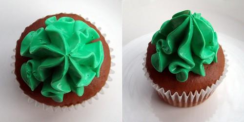 Gluten Free Shamrock Cupcake